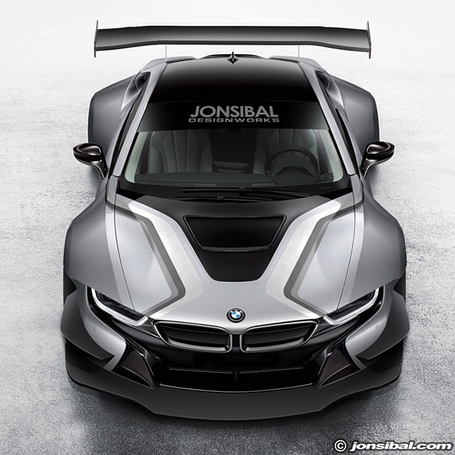 Bmw I8 Racing Car Expertly Rendered Gtspirit