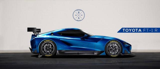 Render: Toyota FT-1 R by Hansen Art