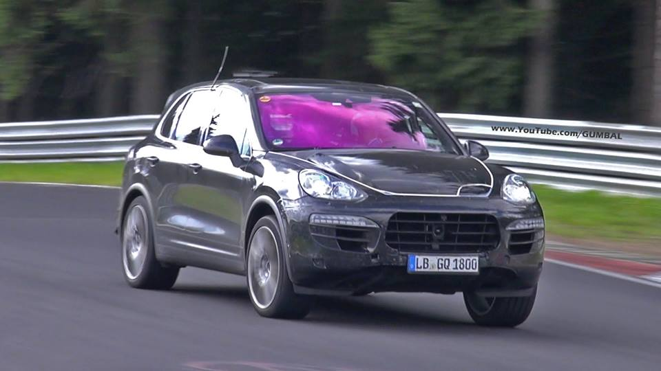 Video: 2015 Porsche 958 Cayenne GTS MkII Testing at the Nurburgring