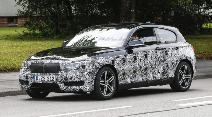 Facelifted BMW 1-Series Tests