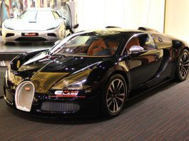 Bugatti Veyron Sang Noir For Sale at Al Ain Class Motors