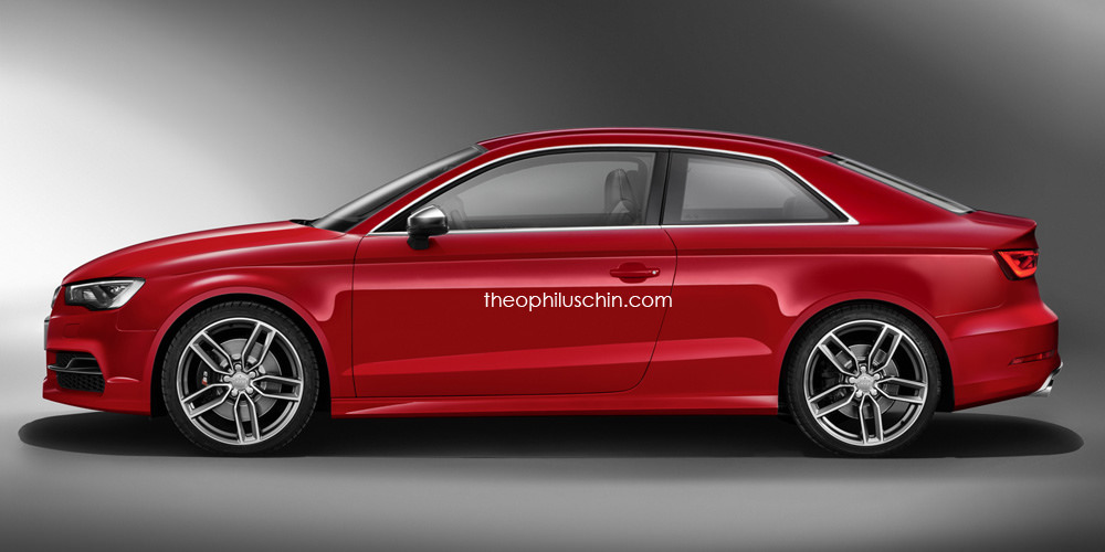 Audi S Coupe Rendered GTspirit - Audi s3 coupe