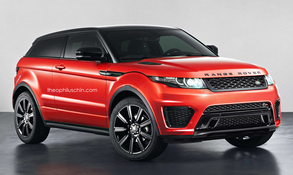 Range Rover Evoque SVR Rendered - GTspirit