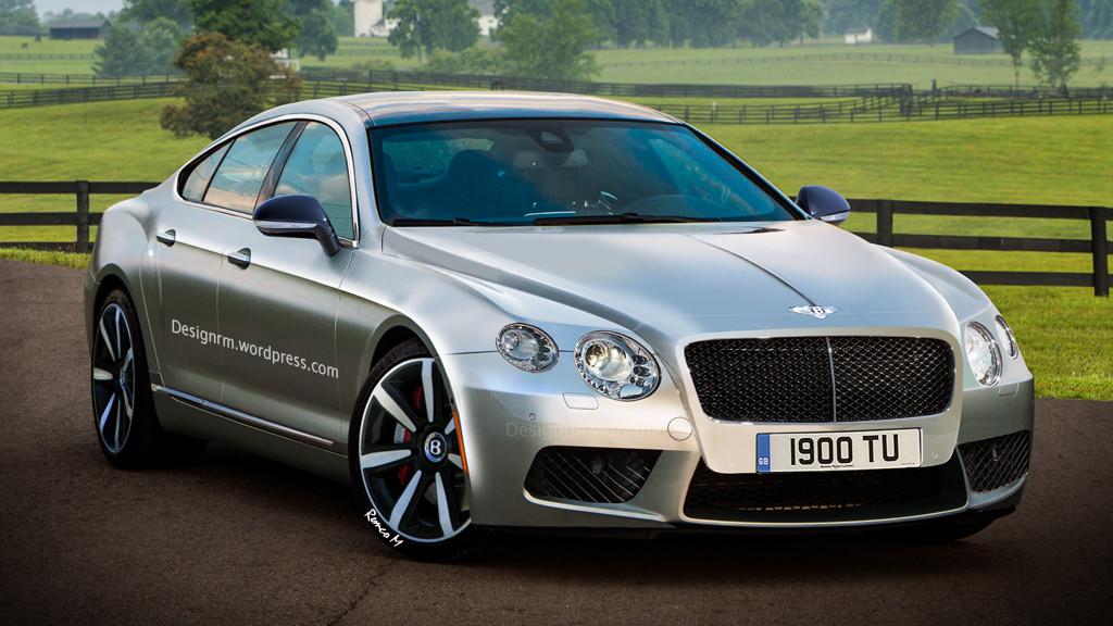 Фото   Четырехдверное купе Bentley по версии RM Design