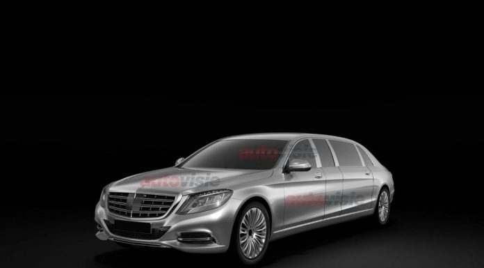 Patented Images of Mercedes-Benz S-Class Pullman Leak