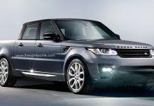Strange Range Rover Sport Truck Imagined