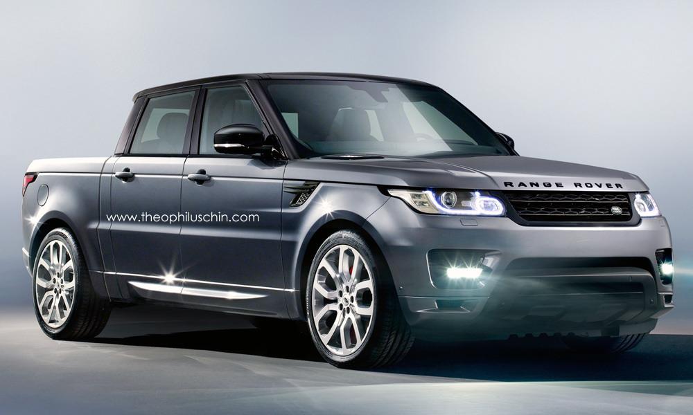 Range Rover Truck >> Strange Range Rover Sport Truck Imagined Gtspirit