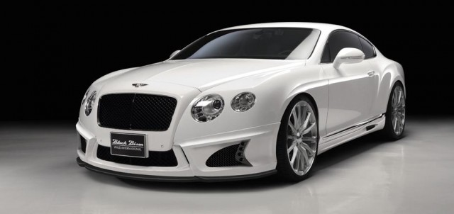 Wald International Previews Upgraded Bentley Continental Package