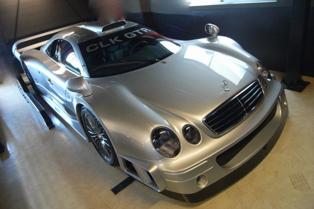 rare mercedes benz clk gtr for sale in germany gtspirit. Black Bedroom Furniture Sets. Home Design Ideas