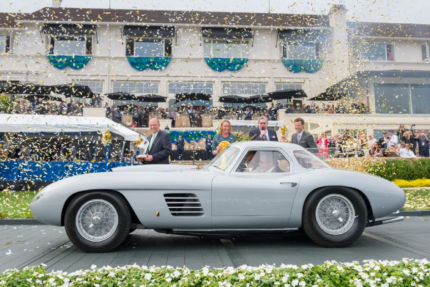 1954 Ferrari 375 MM Scagliette Coupe Awarded Best in Show at Pebble Beach Concours d'Elegance