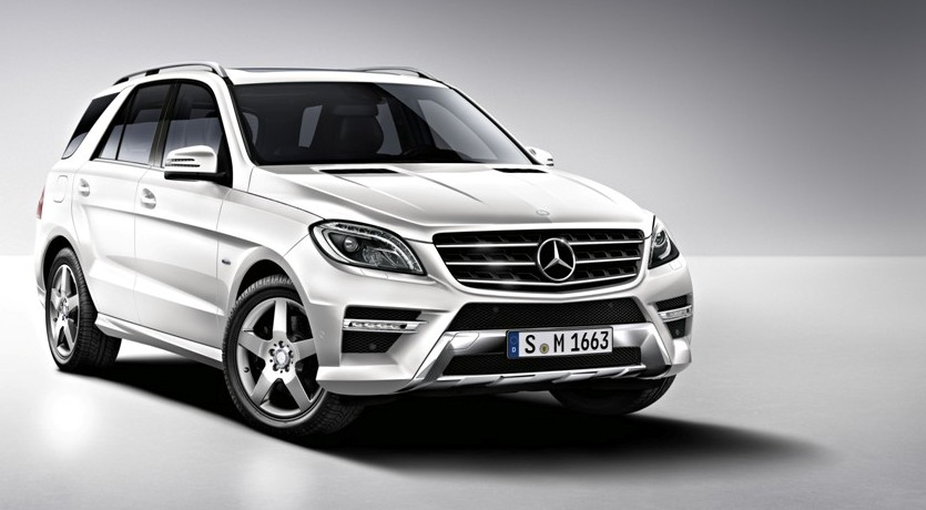 Two new engines added to mercedes benz ml line up gtspirit for Mercedes benz ml 2015