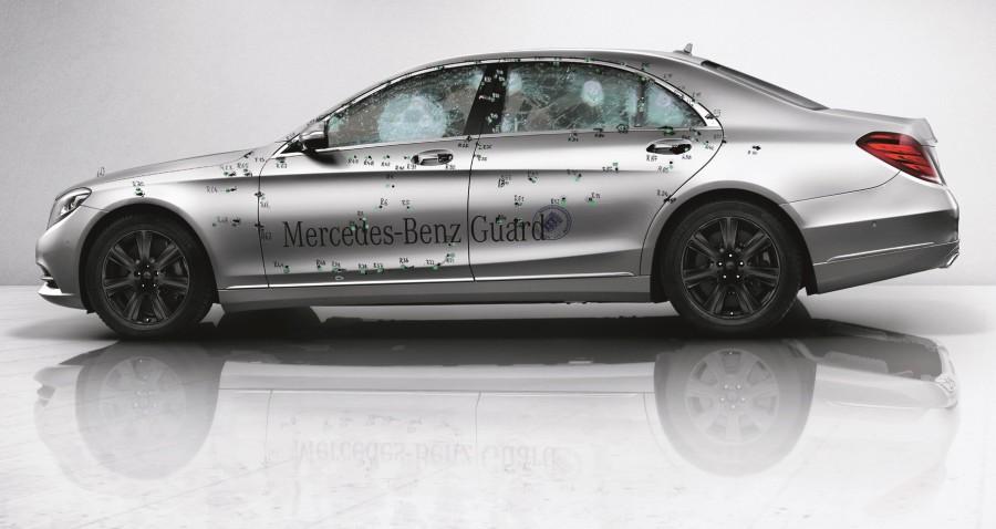 2015 mercedes benz s class guard previewed - 2015 Mercedes S Class White
