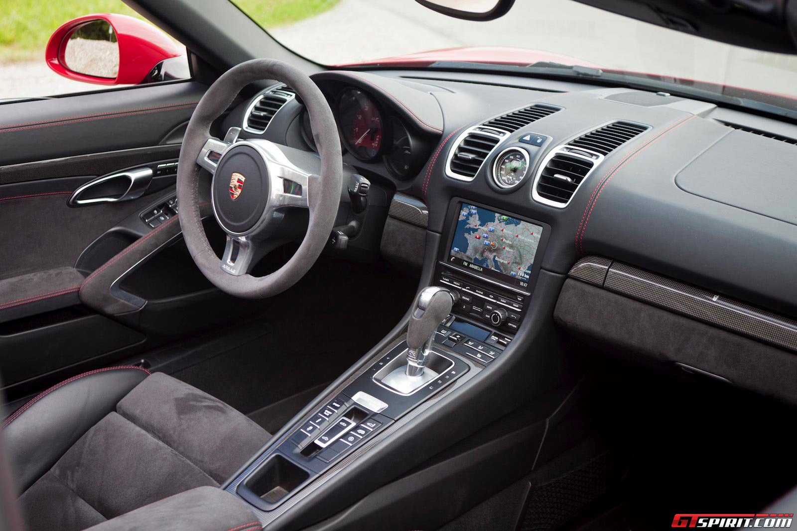 2014 porsche cayman gts interior for Interieur 2015