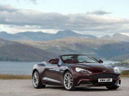 2015 Aston Martin Vanquish Volante