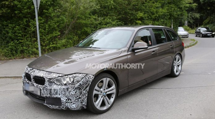 Tweaked BMW 3-Series Touring Spied Testing for the First Time