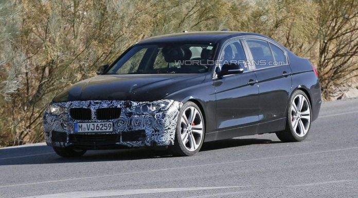 Facelifted BMW 3-Series Spied Before Paris Debut