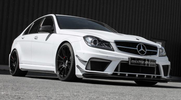 Official: 818hp Mercedes-Benz C63 AMG by Mcchip-dkr