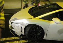 Lamborghini Gallardo LP560-4 Crashed in Austrian Tunnel