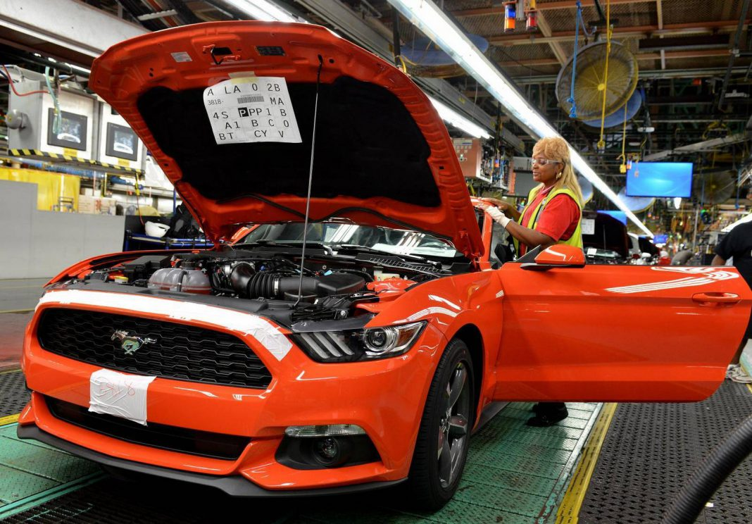 Ford Begins Production of All New Mustang at Flat Rock Assembly Plant