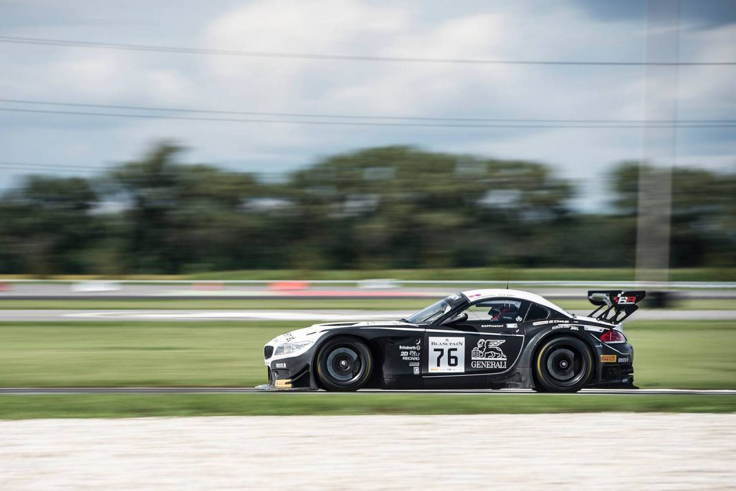 Blancpain GT: BMW Scores 1-2 Finish at Slovakiaring GT Battle!