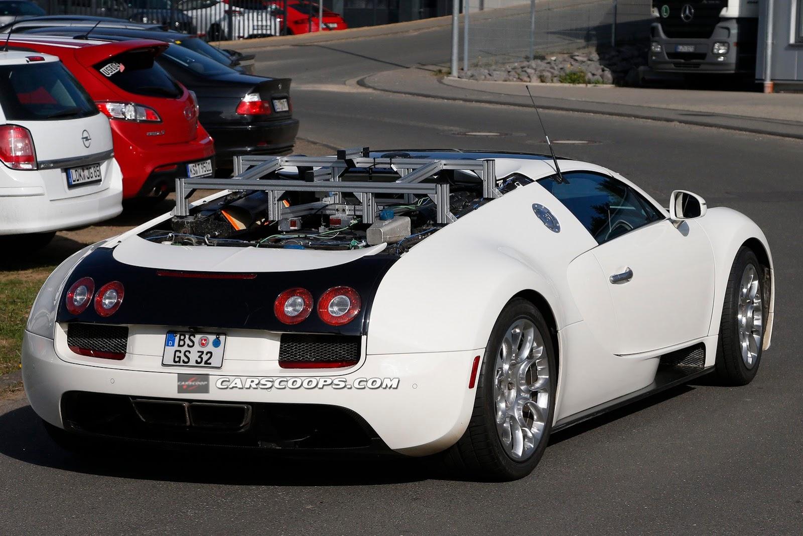 1500hp bugatti veyron successor to be hybrid have. Black Bedroom Furniture Sets. Home Design Ideas