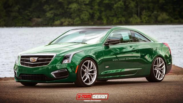 New Cadillac Ats Sedan Anderson >> 2016 Cadillac ATS-V Coupe Rendered - GTspirit
