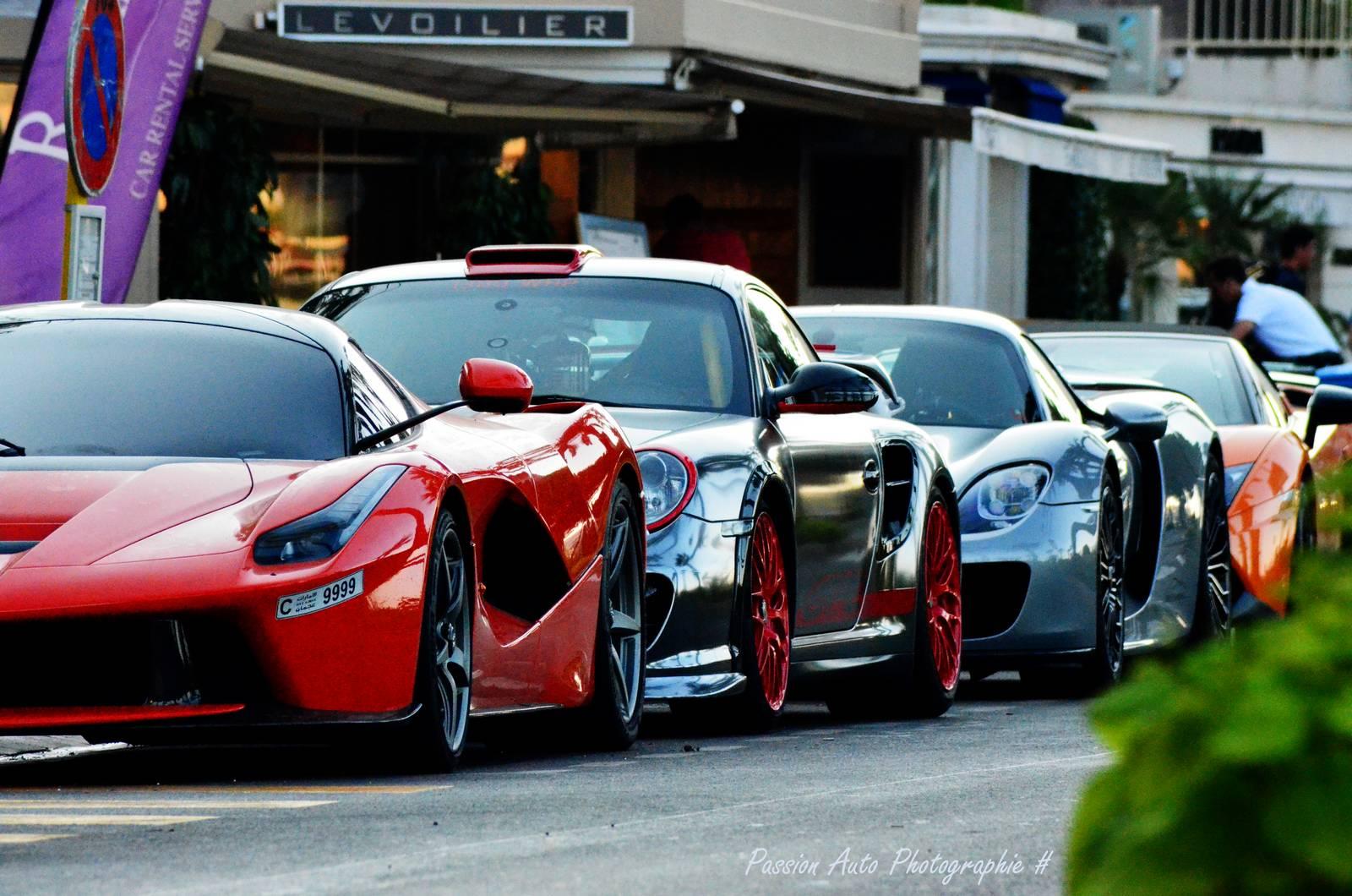 Insane Supercar Lineup In Cannes Gtspirit