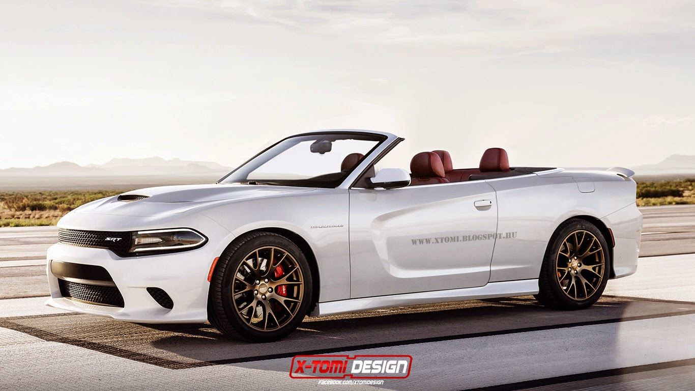 dodge charger srt hellcat convertible imagined gtspirit. Black Bedroom Furniture Sets. Home Design Ideas