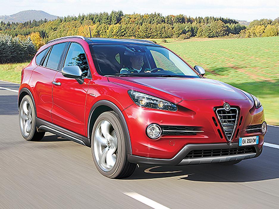 Porsche Macan Rivalling Alfa Romeo SUV Due in 2016 - GTspirit