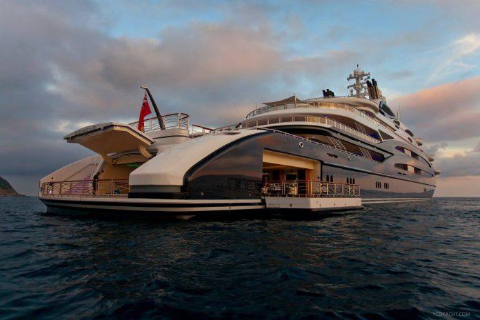 134 Meter Fincantieri Serene Superyacht