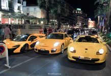Video: Mega Yellow Combo of a McLaren P1, Porsche 911 GT1 and GT2