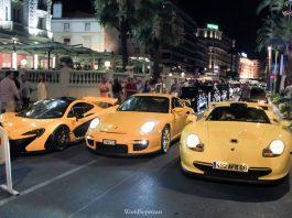 Video: Mega Yellow Combo of a McLaren P1, Porsche 911 GT1 and GT2