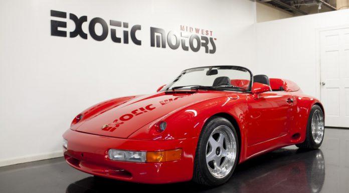 1 of 3 1994 Porsche 911 Strosek Widebody Speedster Up For Grabs!