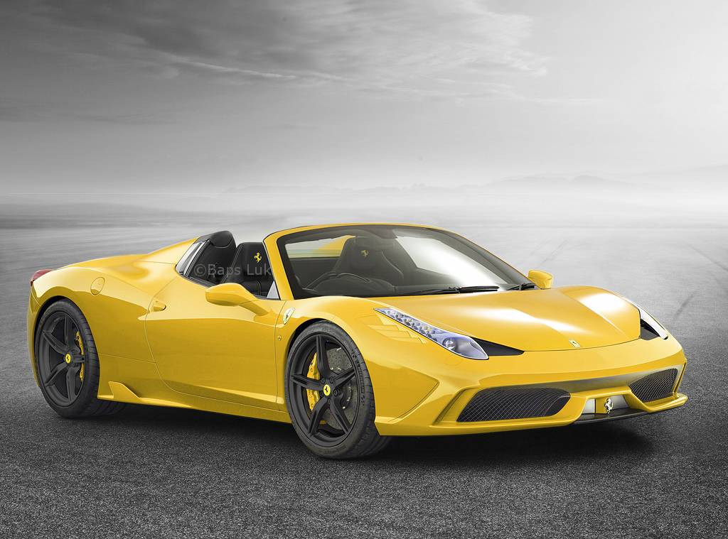 Ferrari 458 Speciale Spider to Debut in Private Event at Pebble Beach