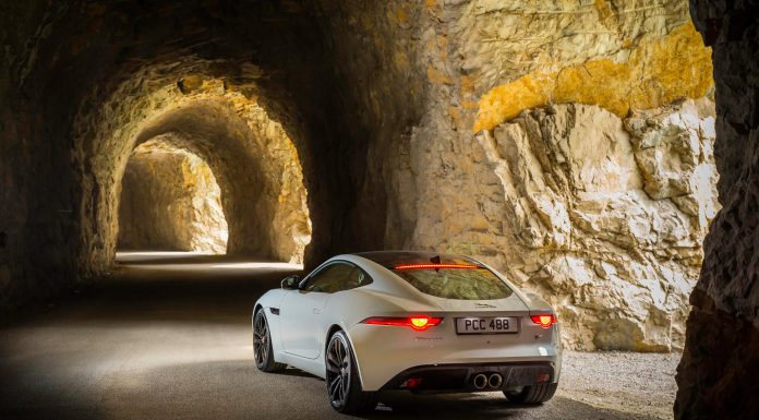 Photo of the Day: Jaguar F-Type V8 Coupe in Underground Tunnels