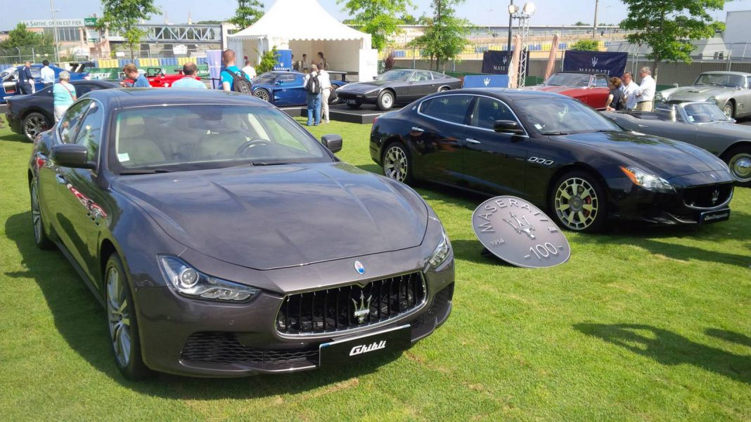 Maserati Centenary Celebrations at Le Mans Classic 2014