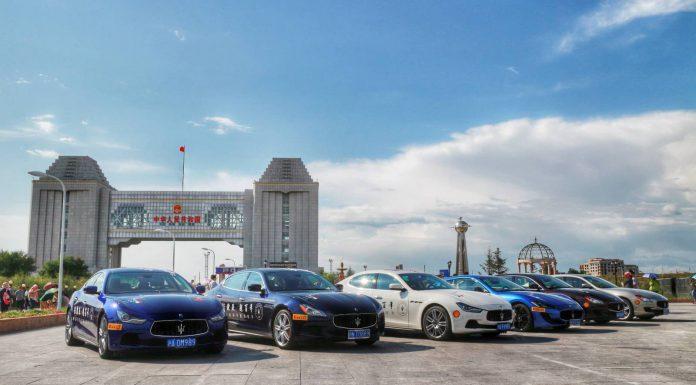 Maserati 100: Road to Modena Tour Enters Russia