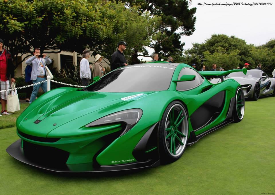 Mclaren P1 Lime Green