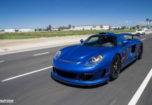 Blue Gemballa Mirage GT Photoshoot