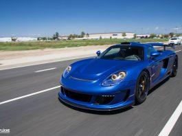 Blue Gemballa Mirage GT Photoshoot