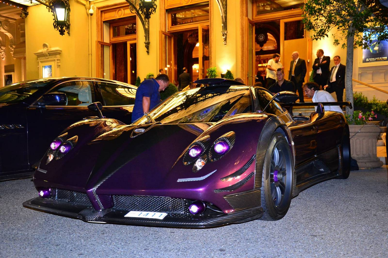 Gallery Pagani Zonda 760 Lh By Night In Monaco Gtspirit