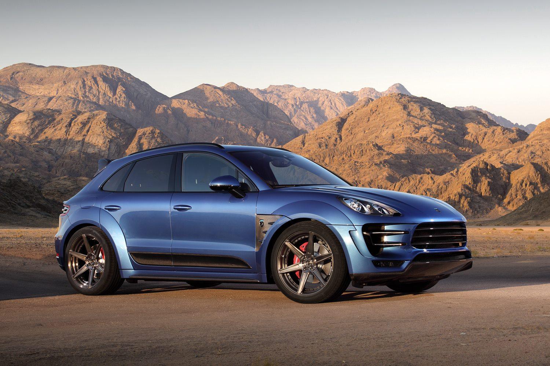 Gallery: Blue TopCar Porsche Macan