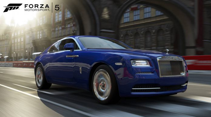 Rolls-Royce Wraith Debuts in Forza 5