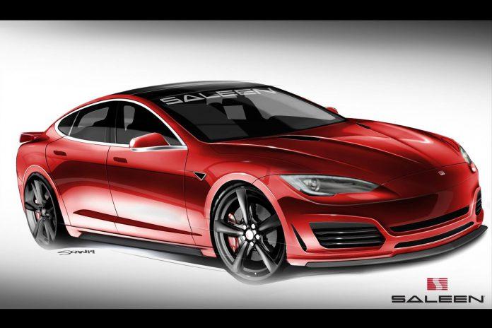 Tesla Model S Based Saleen Foursixteen Debuting at Pebble Beach