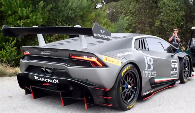 Video: Hear the 2015 Lamborghini Huracan Super Trofeo