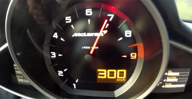 Video: 0-300km/h in the McLaren 650S