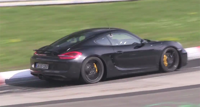 Video: Four-Cylinder Porsche Cayman and Boxster Test at the Nurburgring