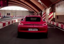 Video: Porsche Cayman GTS on Go-Kart Track!