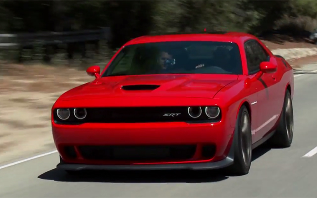 Video: Jay Leno Drives 2015 Dodge Challenger SRT Hellcat