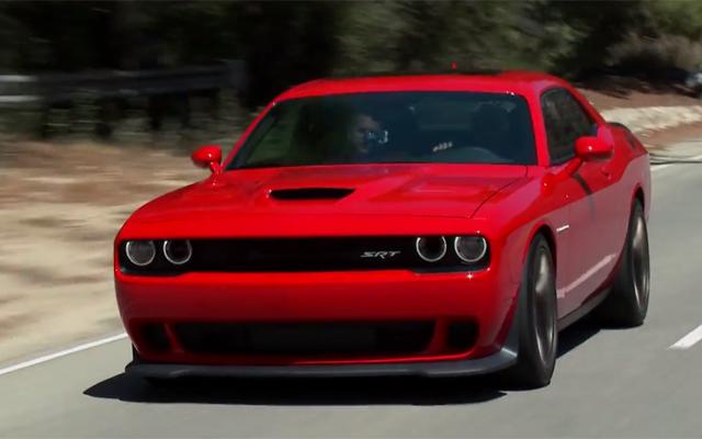 Video: Jay Leno Drives 2015 Dodge Challenger SRT Hellcat